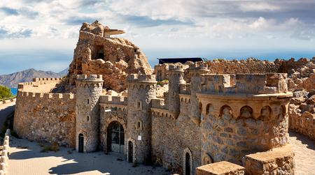 Foto de Castillitos Battery, fortifications of Cartagena, province of Murcia. Spain - Imagen libre de derechos