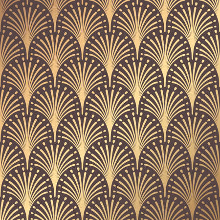 Illustration for Art Deco Pattern - Royalty Free Image