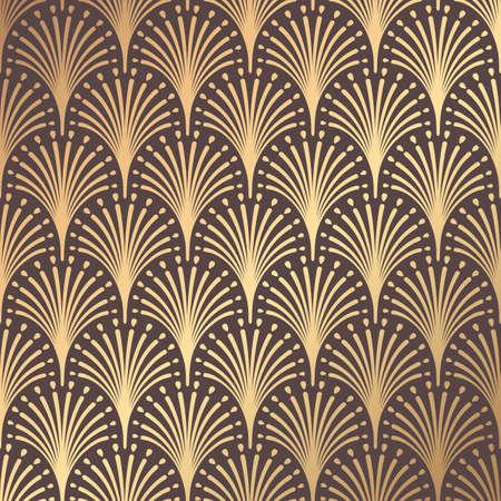 Ilustración de Art Deco Pattern - Imagen libre de derechos