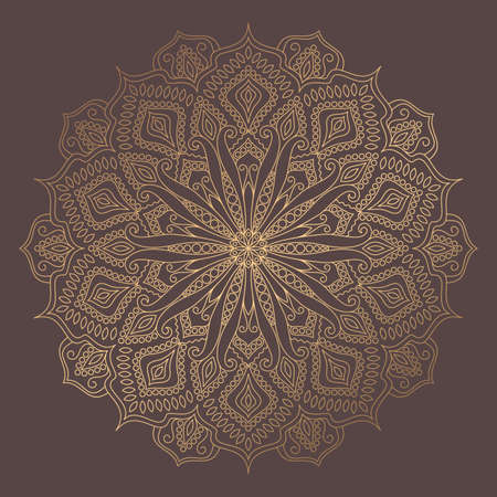 Illustration pour Mandala Vector Design Element - image libre de droit