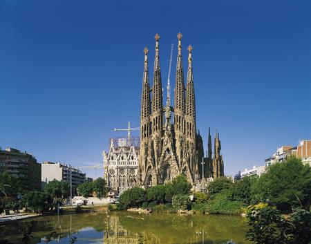 Foto de The Sagrada Familia - Imagen libre de derechos
