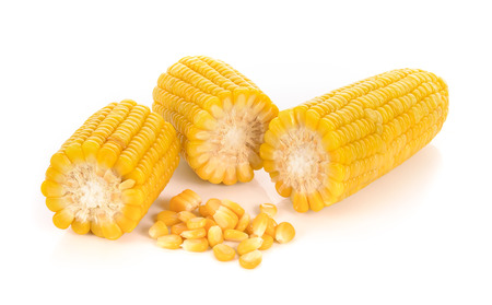 Foto de corn isolated on white background. - Imagen libre de derechos