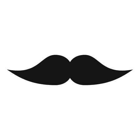 Illustrazione per Movie whiskers icon. Simple illustration of movie whiskers vector icon for web - Immagini Royalty Free