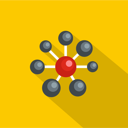 Illustration pour Round lattice icon. Flat illustration of round lattice vector icon for web - image libre de droit