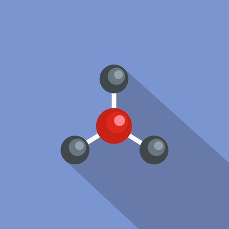 Illustration pour Connection lattice icon. Flat illustration of connection lattice vector icon for web - image libre de droit