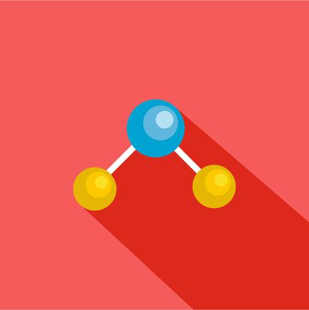 Illustration pour Physics lattice icon. Flat illustration of physics lattice vector icon for web - image libre de droit
