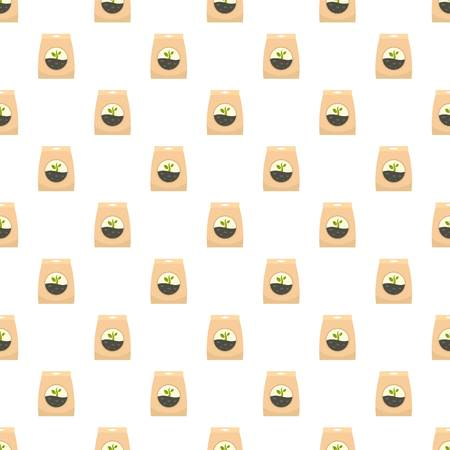 Illustration pour Plant seed pack pattern seamless vector repeat for any web design - image libre de droit