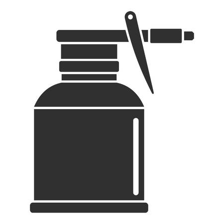 Illustration pour Car bottle spray icon, simple style - image libre de droit
