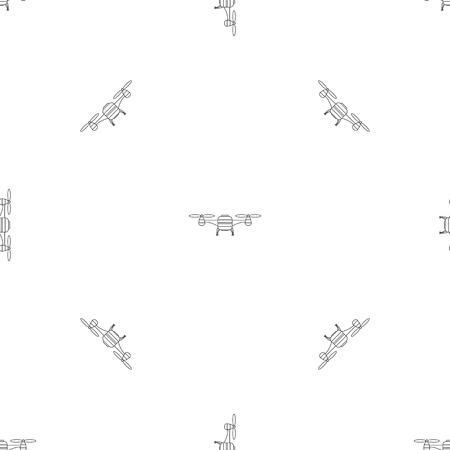 Foto de Toy drone pattern seamless - Imagen libre de derechos