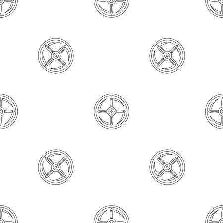 Foto de Drone propeller pattern seamless - Imagen libre de derechos