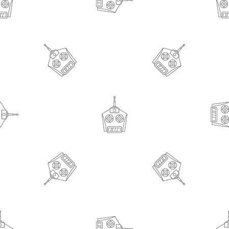 Foto de Drone remote control pattern seamless - Imagen libre de derechos