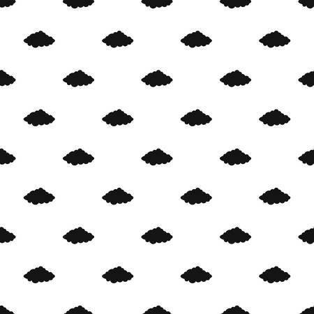 Illustration pour Weather forecast pattern seamless vector - image libre de droit