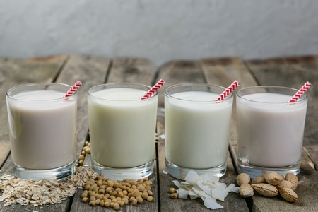 Photo for Non dairy milk concept - Royalty Free Image