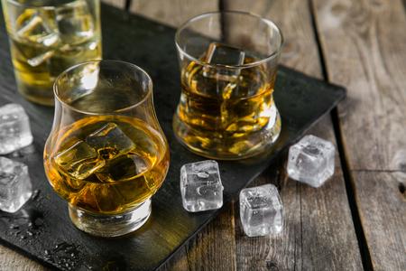 Foto de Different types of strong alcohol - Imagen libre de derechos
