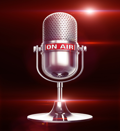Photo for on air illustration - Royalty Free Image