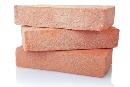 Photo pour Old red brick stack  - image libre de droit