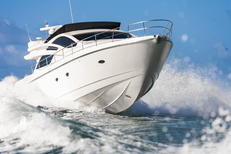 Photo pour motor yacht - image libre de droit