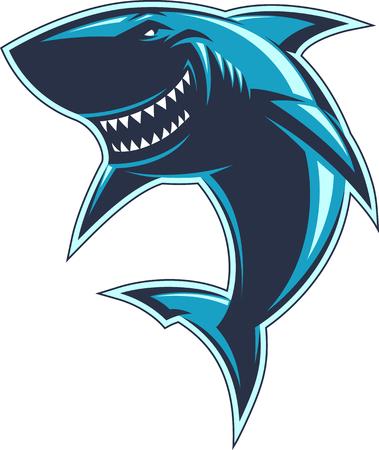 Ilustración de Modern professional sharks   for a club or sport team - Imagen libre de derechos