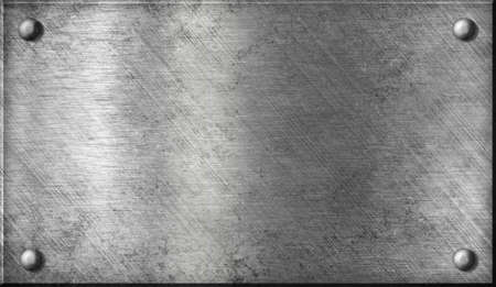 steel or aluminium or aluminum metal plate with rivets