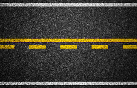 Photo for Asphalt highway with road markings background - Royalty Free Image