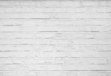 Foto de Abstract old stucco white brick wall background - Imagen libre de derechos