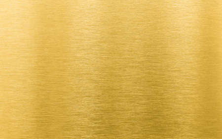 Photo pour gold brushed metal texture or background - image libre de droit