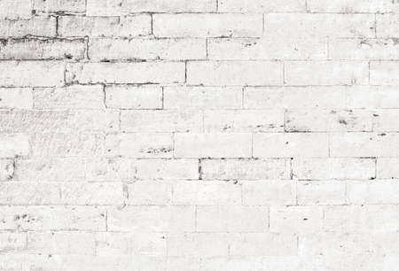 Photo for old white brick wall background - Royalty Free Image