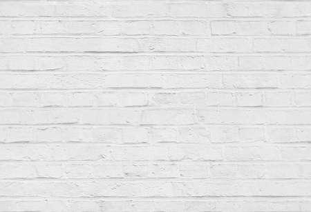 Foto de Seamless white brick wall pattern texture background - Imagen libre de derechos