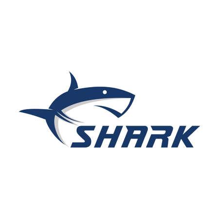 Ilustración de Mascot shark electronic sport game vector logo design template - Imagen libre de derechos