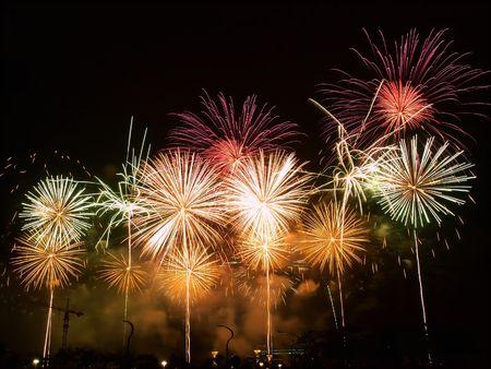 Happy Night Fireworks