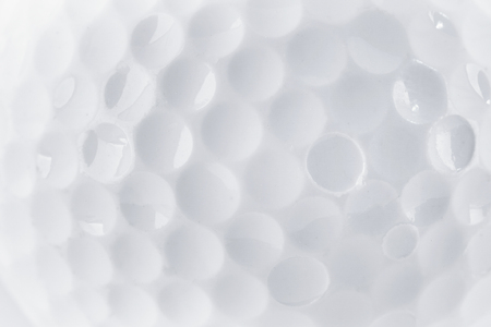Foto de CLose up of a Golf Ball texture by macro lence and special tube - Imagen libre de derechos