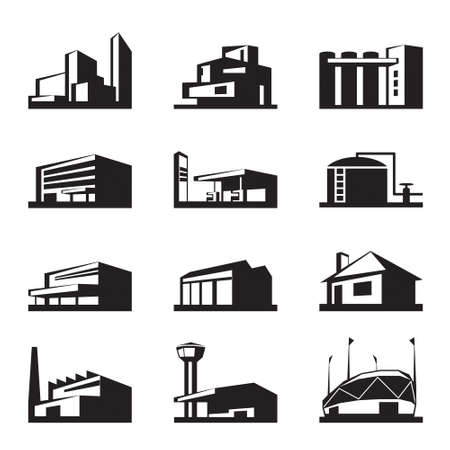 Foto de Various types of construction -  illustration - Imagen libre de derechos