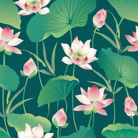 Illustration for Flower pattern. - Royalty Free Image