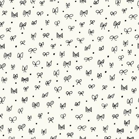 Foto de Seamless pattern with bows - Imagen libre de derechos