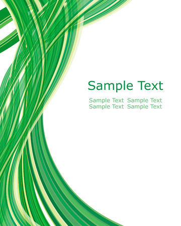 Abstract green ecological theme pattern. Vector illustration