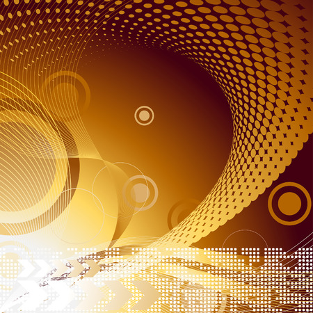 Photo for Abstract vector template background for design use - Royalty Free Image
