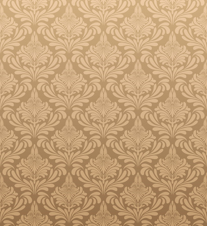 Illustration pour Damask seamless vector pattern.  For easy making seamless pattern just drag all group into swatches bar, and use it for filling any contours. - image libre de droit