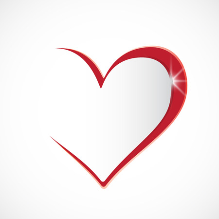Illustration for I love you heart background - Royalty Free Image