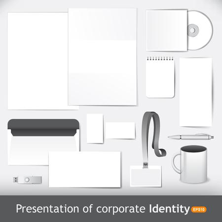 Foto de Presentation of corporate identity and brand - Imagen libre de derechos