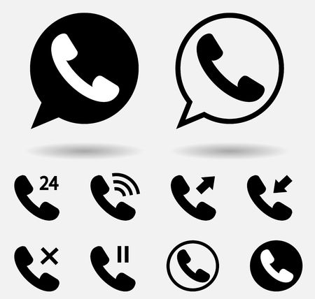 Illustration pour handset icon - image libre de droit