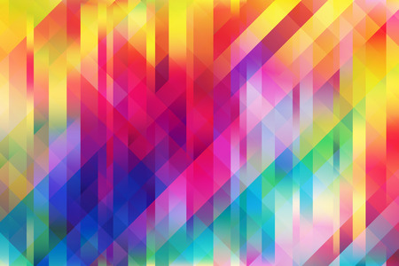 Illustration pour Shiny colorful mesh background with vertical and 2 diagonal lines - image libre de droit