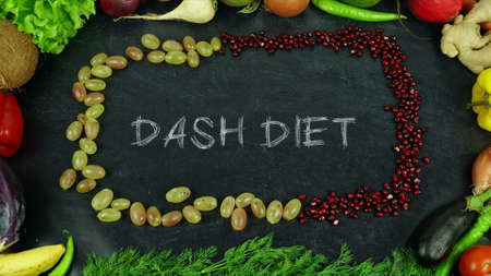 Photo for Dash diet fruit stop motion - Royalty Free Image