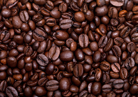 Foto für Roasted coffee beans background - Lizenzfreies Bild
