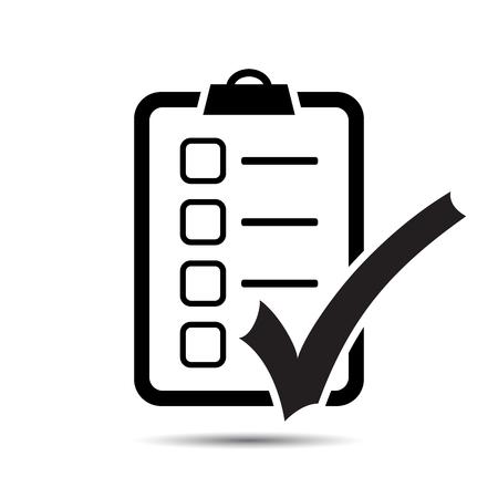 Illustration pour Check List Icon. Vector - image libre de droit