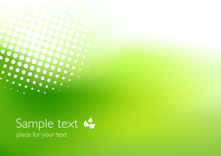 Illustration for Elegant green background - Royalty Free Image