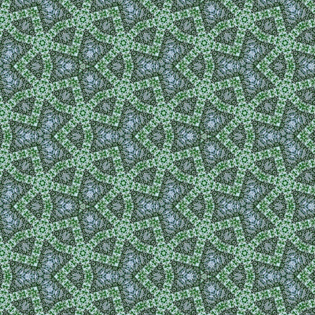 Photo for ornamental arabesque of continuous mosaic for wallpaper, fabric, textile or card - Royalty Free Image