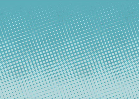 Illustration pour Halftone background. Comic dotted pattern. Pop art retro style. Backdrop with circles, rounds, dots, design element for web banners, posters, cards, wallpapers. Colorful Vector illustration - image libre de droit