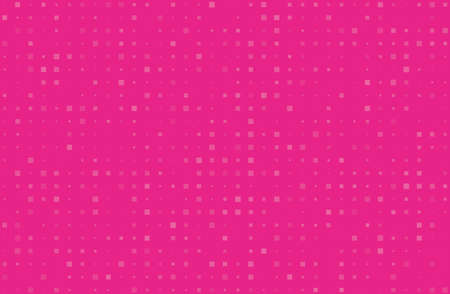 Illustration pour Abstract geometric pattern with small squares different size, scale. Design element for web banners, posters, cards, wallpapers, backdrops, panels Pink color Vector illustration - image libre de droit
