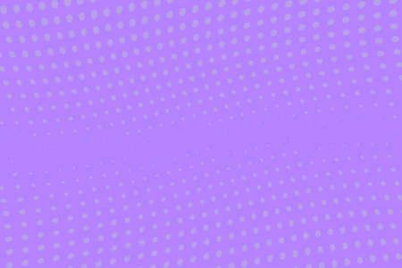 Illustration pour Violet wave halftone background. Digital gradient. Abstract backdrop with circles, point, dots. Dotted pattern. Futuristic panel Vector illustration - image libre de droit