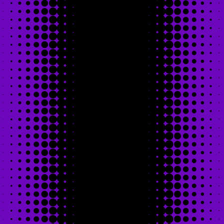 Illustration pour Halftone Background. Fade Dotted pattern. Digital Gradient. Pop-art style. Grunge Backdrop. Modern futuristic Pattern. Abstract panel. Vector illustration - image libre de droit